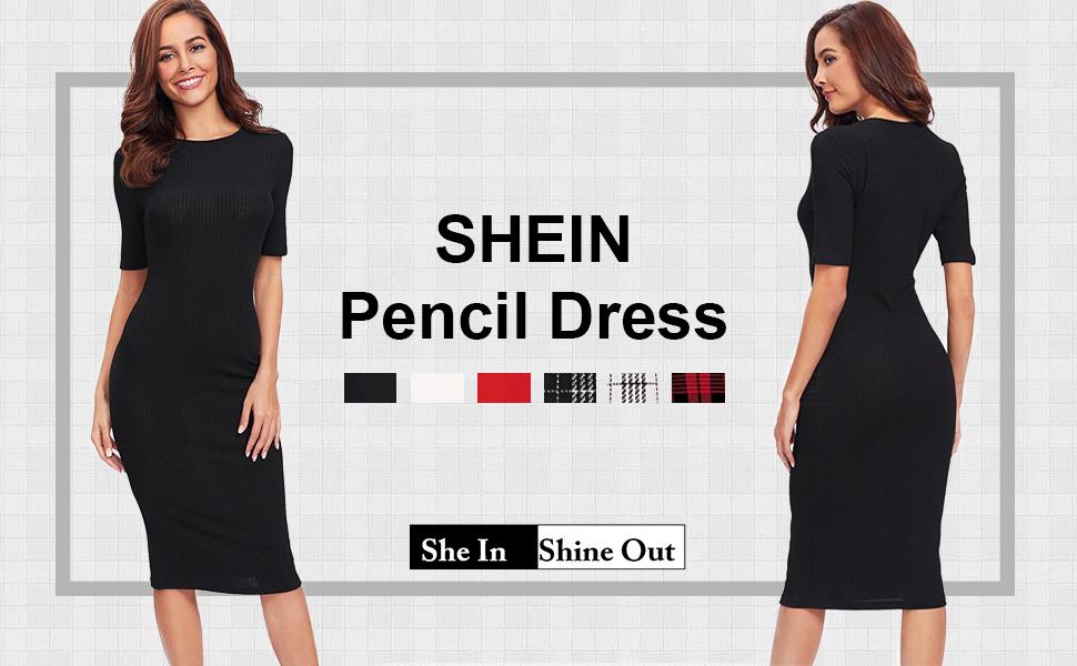 women pencil dress