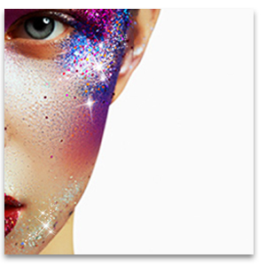 glitter for body art