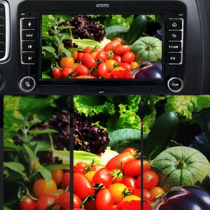 [para Volkswagen/VW] ATOTO S8 Pro S8VWA75P,Android Coche en el Tablero de vídeo y navegación,Dual BT con aptX HD, teléfono Link, Pantalla QLED,VSV ...