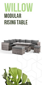 orner sofa, Washable Covers, dining, stools, outdoor, rattan, Fully Assembled, contemporary, garden