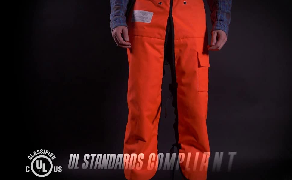 UL Compliant Chainsaw Chaps