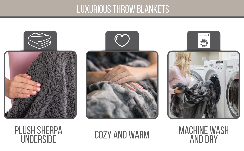 beautiful and soft blankets