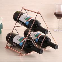 Scaffale Portabottiglie in Metallo per 4//9 Bottiglie di Vino Scaffale per Vini Porta Bottiglie da Vino per un Amante di Vini SPDYCESS