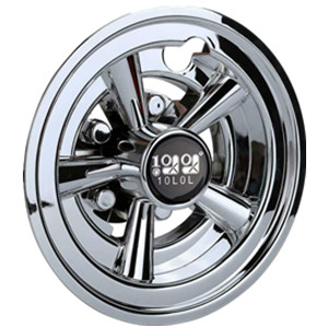 Great golf cart hubcaps.