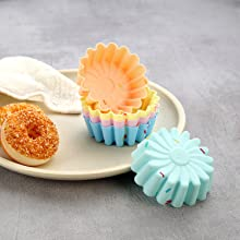 silicone cupcake molds