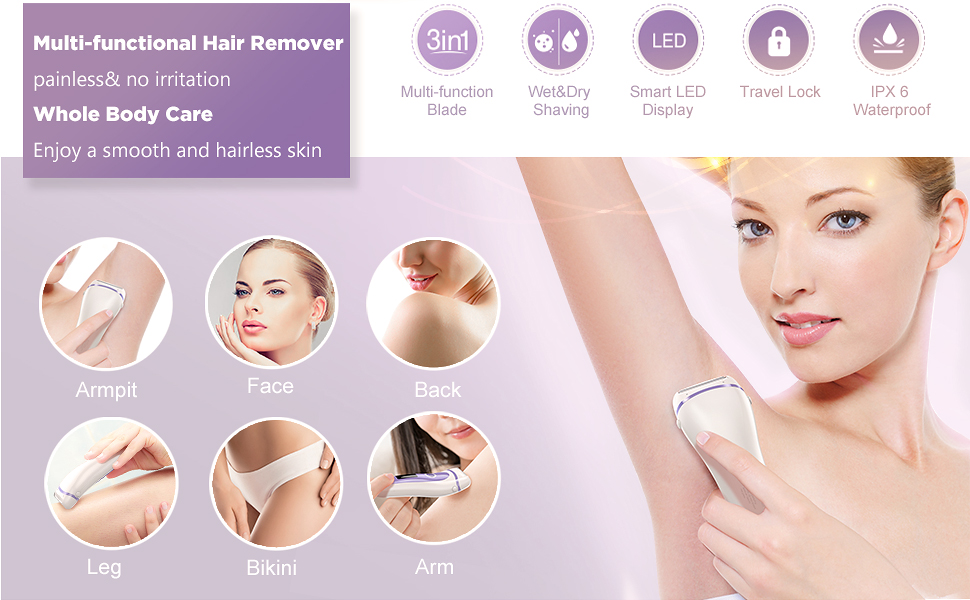 electric shaver women