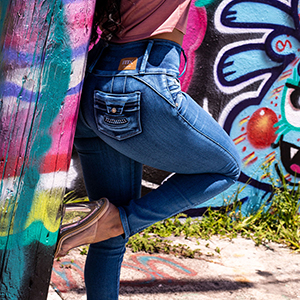Soft and Stretchy Comfortable Skinny Jeans