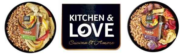 farro Quinoa meal quick cups artichoke roasted garlic grilled vegetables kitchen & love