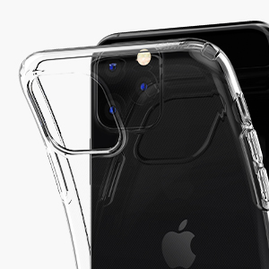 Spigen Liquid Crystal, Designed for iPhone 11 Pro Max Case (2019) - Crystal  Clear: Amazon.co.uk: Electronics
