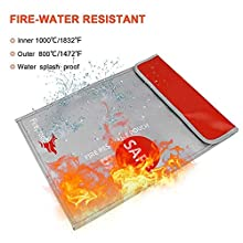 fire/water resistant case