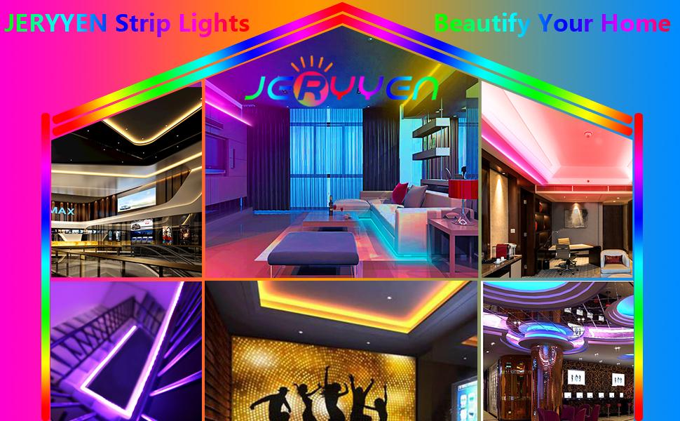 Jeryyen led strip lights