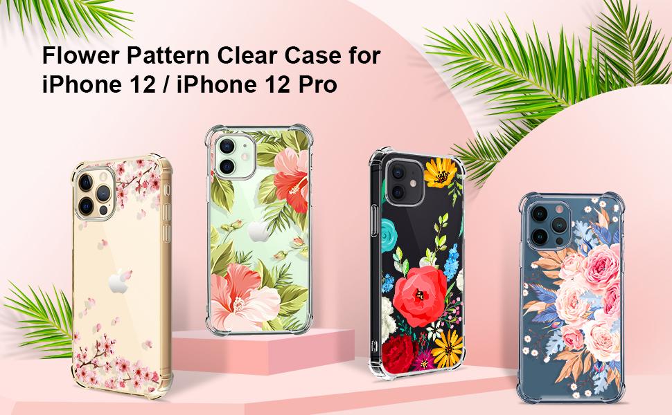iphone 12 pro case pink cherry
