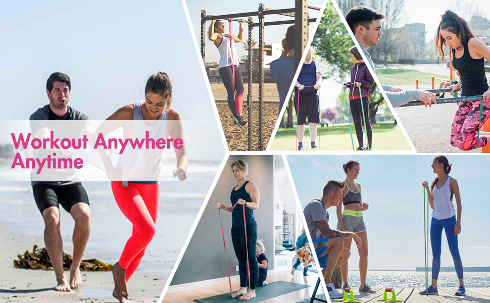easy to use full body exercise bands for any age