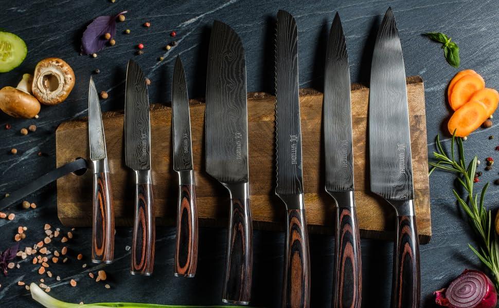 Yatoshi Kitchen Knife set