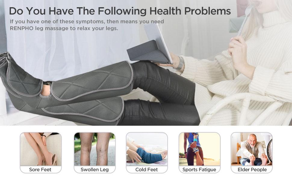 RENPHO Leg Massager with heat
