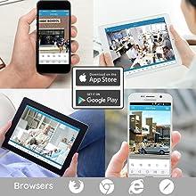 home security camera, wifi camera, wireless security camera, home security camera system