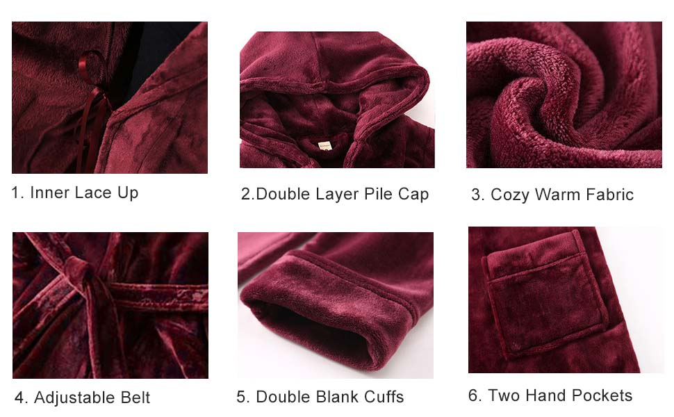Details of Womens Ladies Pajamas Sleepwear Housecoat