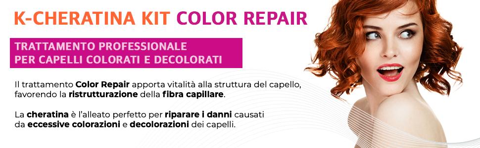 K-Cheratina Kit Color Repair