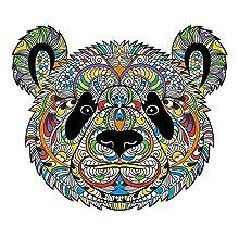 bear coloring design
