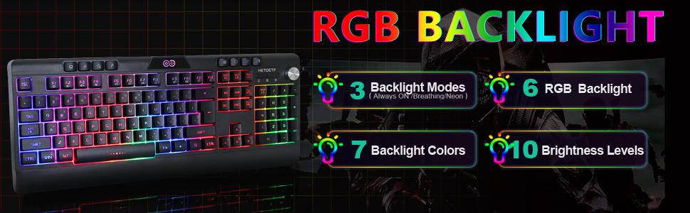 LED Backlit Keyboard
