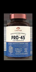 Pro45 Clinical Grade Probiotics