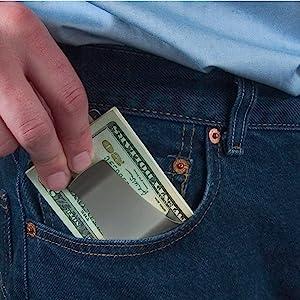 Smart Money Clip pocket wallet image