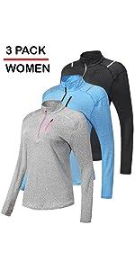 womens quarter zip pullovers