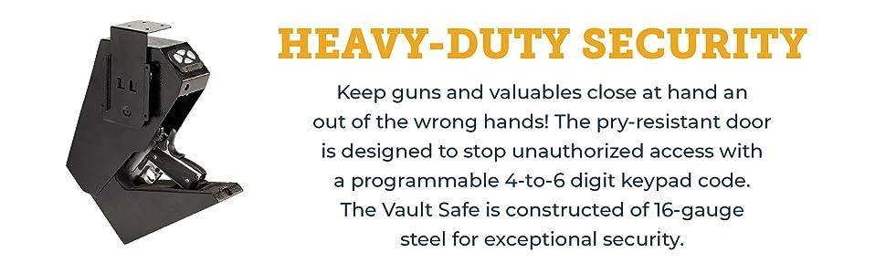 Heavy duty security