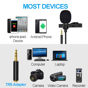 mic for iphone, camera, pc