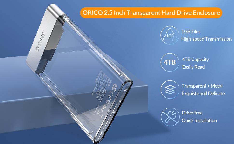orico 2.5inch enclosure