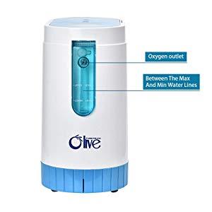 Vogvigo Concentrador de oxígeno 1-5L / min Máquina de oxígeno ...