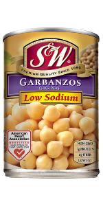 garbanzo beans chickpeas can canned bulk