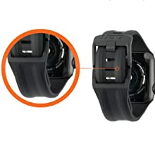 URBAN ARMOR GEAR UAG SILICONE WATCH STRAP TUCK CLOSURE CLASSIC WATCH CLOSURE SECURE TOUGH