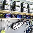 garage storage, garage shelving, garage shelves, home organization, made in America, rhino shelf