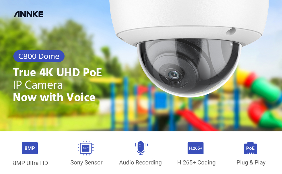 annke poe security camera system