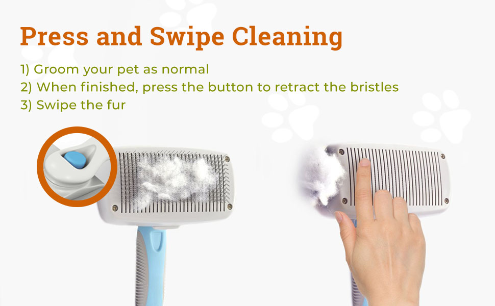 Press and Swipe Cleaning