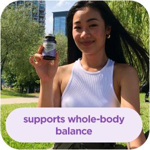 supports whole body balance