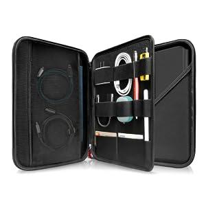 tomtoc Portfolio Case para 2020 iPad Pro de 12.9 Pulgadas de 3.a y 4.a generación, Bolso Organizador de maletín de Negocios para Cargador, lápiz iPad, Cable, Fit Surface Pro 12.3: Amazon.es: Electrónica