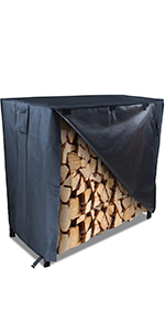 Aidetech Firewood Rack Cover 4FT