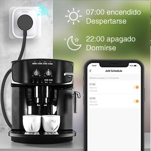 Wifi Enchufe Inteligente 4 Pack, Gosund Mini Smart Plug con Monitor de Energía para Controlar Dispositivos Desde Cualquier Lugar, Compatible con Alexa/Google Home, Temporizador: Amazon.es: Bricolaje y herramientas
