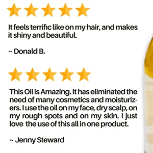 great review on argan oil product