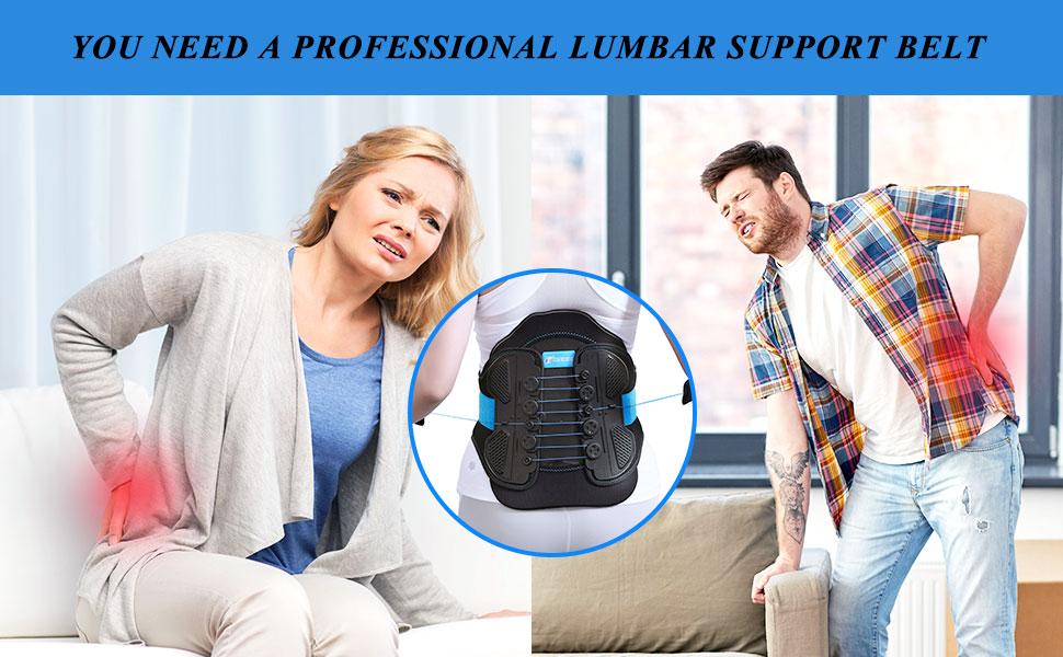 YOU NEED A TIMTAKBO PROFESSIONAL LUMBAR SUPPORT BELT