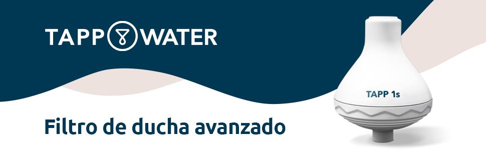 TAPP Water TAPP 1s - Filtro de Agua para Ducha (Elimina la Cal, el ...