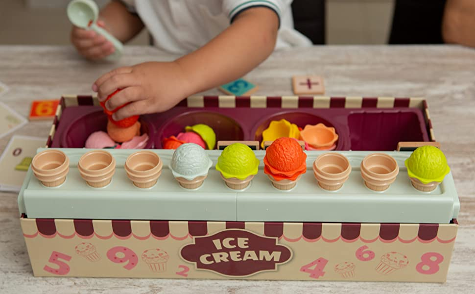 ice cream game toy