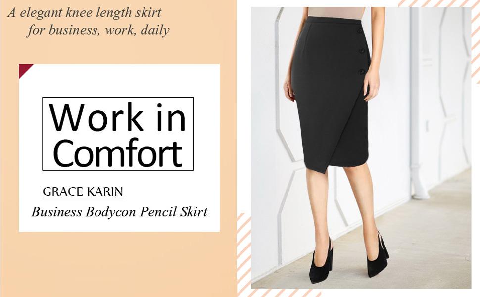 business skirt for women