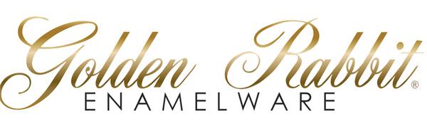 Golden Rabbit Enamelware