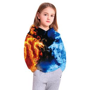 Goodstoworld 3D Sweat-Shirt /à Capuche Enfants Gar/çon Filles Hoodie Dr/ôle Manches Longues Pullover Sweat-Shirts avec Poche 4-16Ans