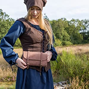 Mittelalterliches Kleid blau