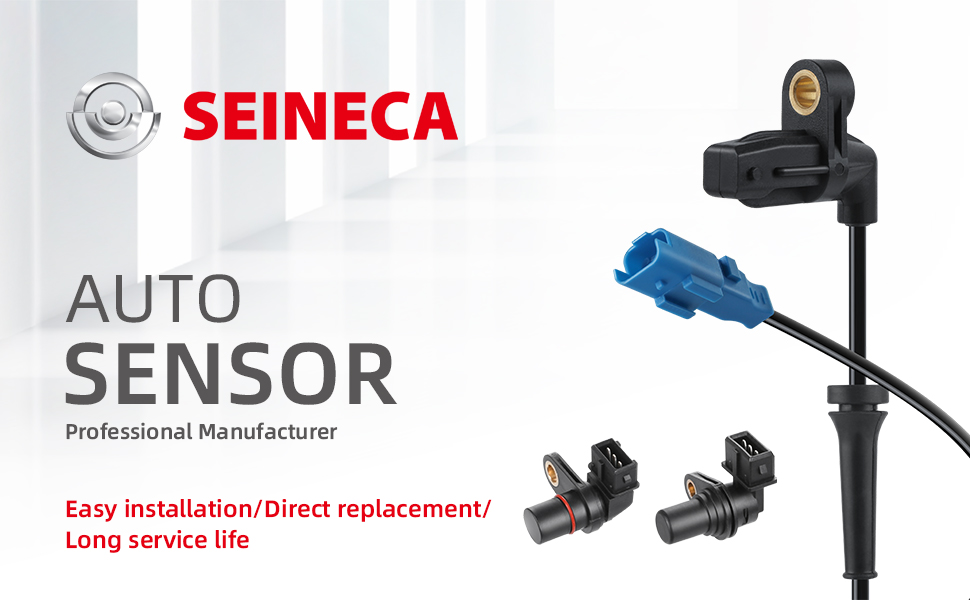 ABS Wheel Speed Sensor Rear Left Fits Hyundai Veracruz 2007-2011 KIA Sorento 2011-2012 Seineca 95680-3J000 956803J000 SU10209 5200207 ALS1680 5S8747
