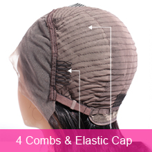 4 combs & Elastic cap
